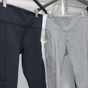 Grey and Black Leggings. Never Worn.